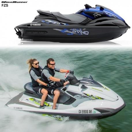 Yamaha FZS Waverunner Perahu Boat