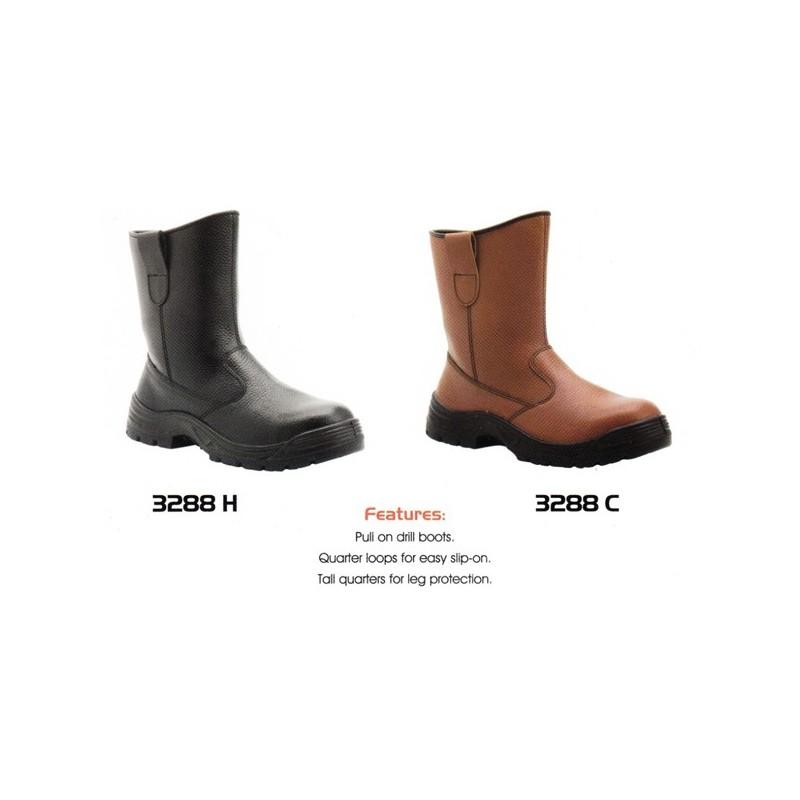 Harga Jual Cheetah 3288 PU Shoes Men Sepatu Safety