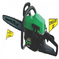 Green OU-GS5800 Mesin Gergaji Kayu Chainsaw 20 Inch