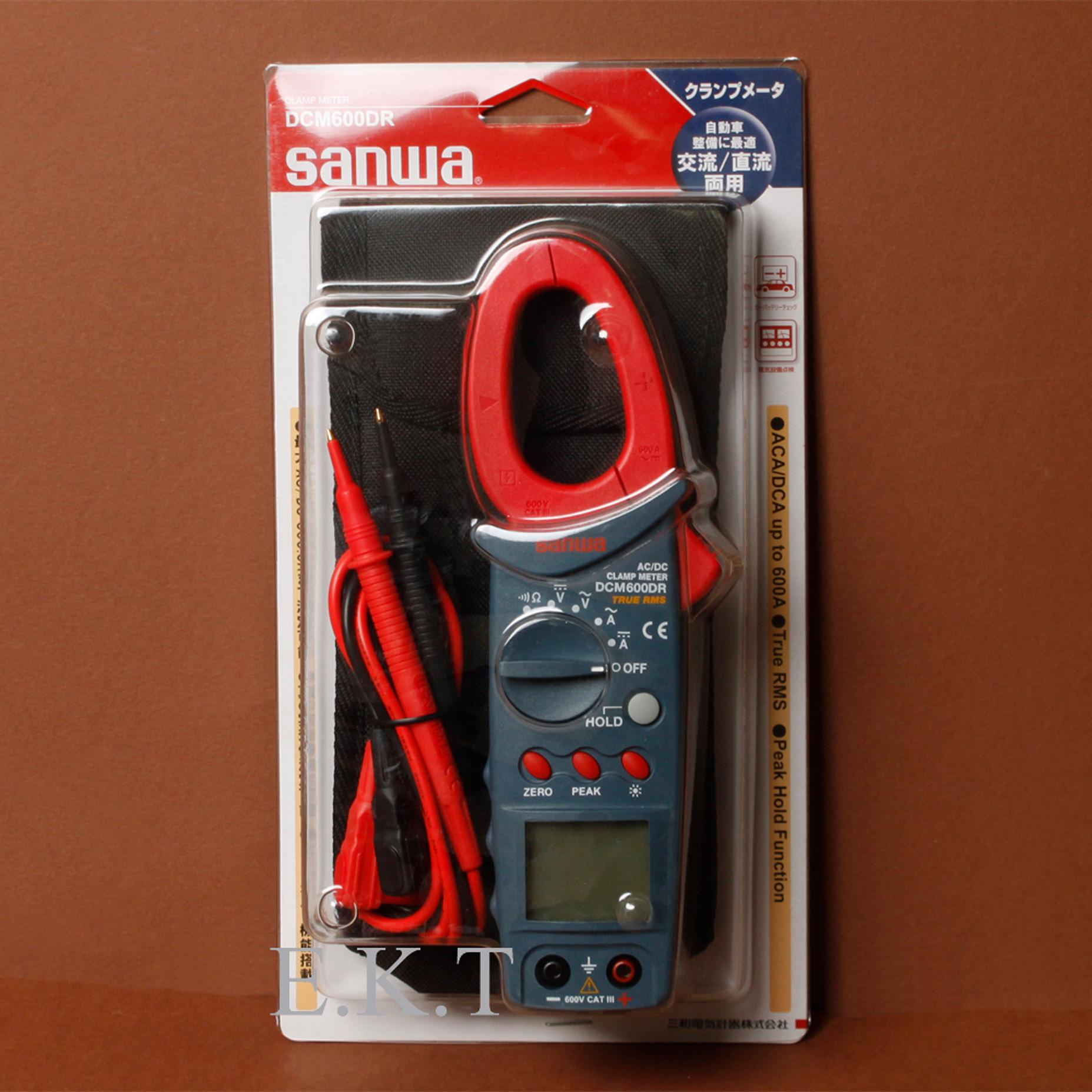 Harga Jual Sanwa Dcm600dr Dc Ac True Rms Tang Ampere Digital Clamp Meter Kyoritsu 2040 Spesifikasi