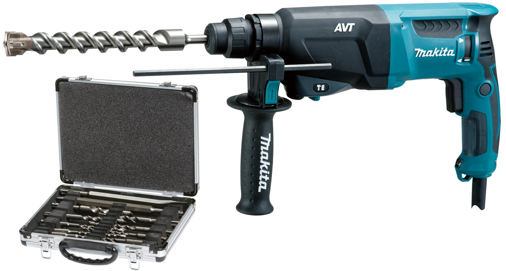 Makita HR2611F Mesin Bor Tembok 26mm 800 Watt