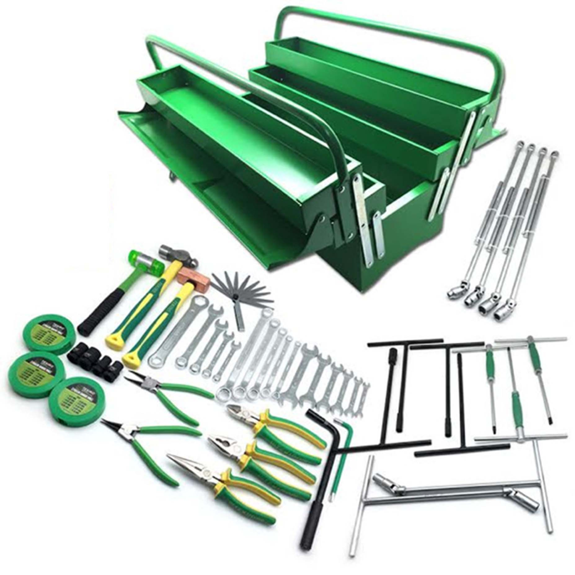 Harga Tekiro Tool Set Mekanik Automotive 50 Pcs Metal Box Perkakas Stanley 5 Tray Cantilever Spesifikasi