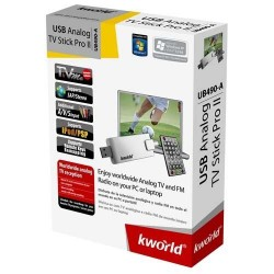 Kworld UB490-A TV Tuner USB Analog TV Stick Pro II USB