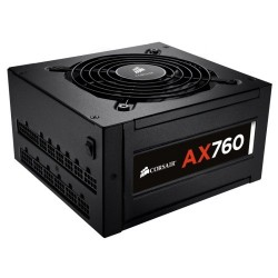 Corsair AX760 Power Supply 760W Fully Modular 80 Platinum CP-9020045-EU