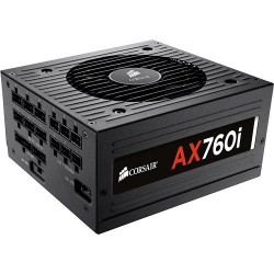 Corsair AX760i Power Supply Digital 760W Fully Modular 80 Platinum CP-90200036-EU