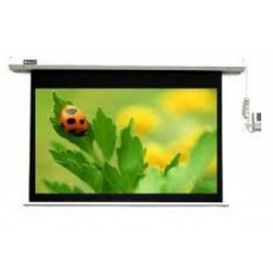 Clevo Motorized Screen Seamless 84 Inch x 84 Inch [213cmx213cm]