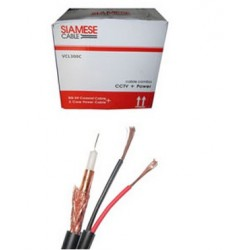 Vascolink Kabel Rg59 + Power Copper Black
