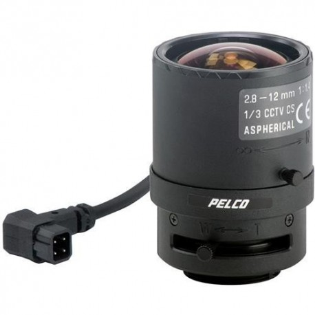 PELCO 13VD2812 Varifocal Lens f/1.4 Extremely Wide Normal Auto Iris [13VD2.8-12]