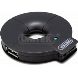 Unitek USB 2.0 4Port Hub with BCS Y-2028