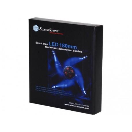 Silverstone SST-FN181-BL BLUE LED FAN CASING 18CM