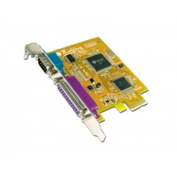 SUNIX MIO5469A 1 Port Serial  1 Port Parallel PCI-E I-O Card