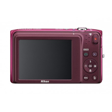 Nikon COOLPIX S3500 20.1 MP Digital Camera with 7x Zoom