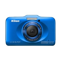 Nikon Coolpix S31 10.1 MP Waterproof Digital Camera with 720p HD Video
