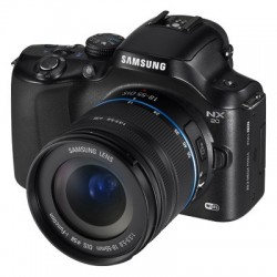 Samsung NX20 20.3 MP SLR with 3.0-Inch LCD Camera Kit With 18-55mm