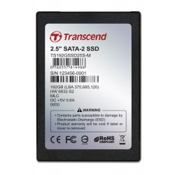 Transcend 192GB SSD 2.5 in SATA 2MLC
