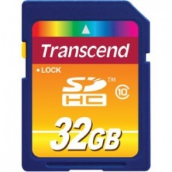 Transcend 32GB SSD 2.5 in SATA 2MLC