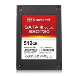 Transcend 512GB SSD 2.5 in SATA 2MLC