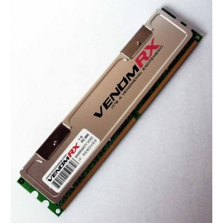 VenomRX DDR2 PC6400 2GB With Heatsink