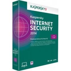 Kaspersky Internet Security 2014 3 User 1 year