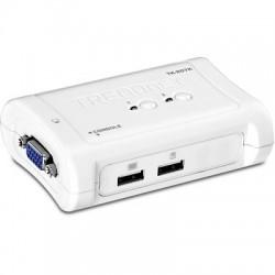 TRENDnet TK-207K 2-Port USB KVM Switch Kit