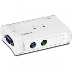 TRENDnet TK-205K 2-Port PS/2 KVM Switch Kit