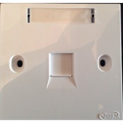 AMP 1859049-1 Face Plate 1 Hole