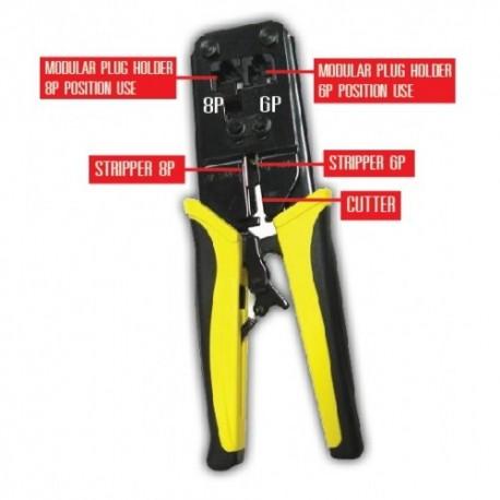 Exon Crimping Tool RJ45/RJ11
