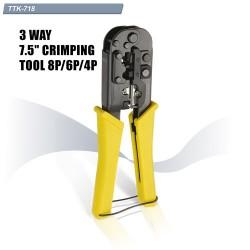GoldTool TTK-718 Crimping Tool RJ45 RJ11
