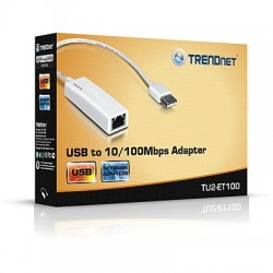 TRENDnet TU2-ET100 USB to 10100Mbps Adapter