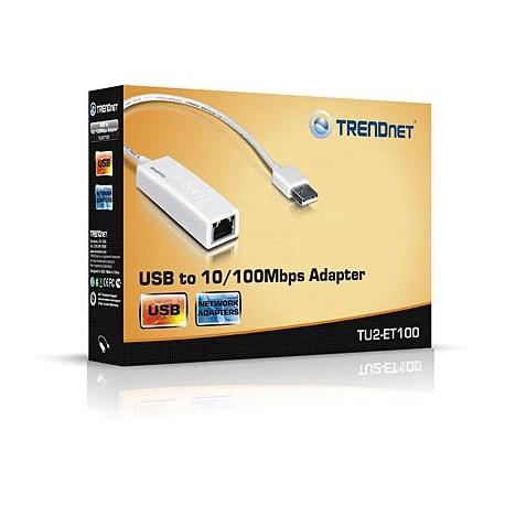 TRENDnet TU2-ET100 USB to 10100Mbps Adapter