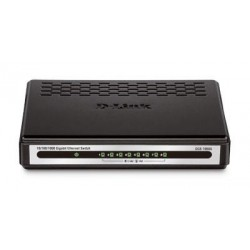 D-Link DGS-1008A Desktop 8 Port 10/100/1000 Gigabit Switch