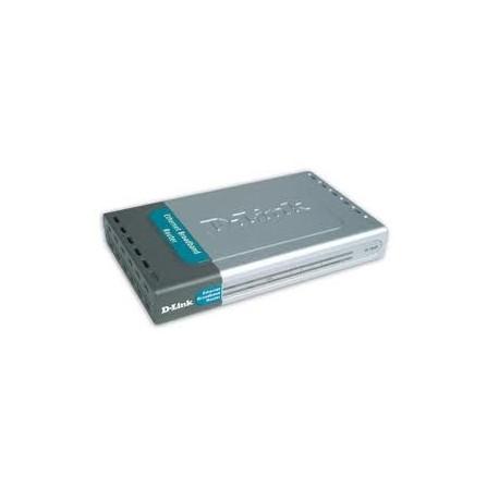D-Link 4-Port UTP 10 100mbps1-port UTP For ADSLand Cable Modem Conection 1port DI-704P