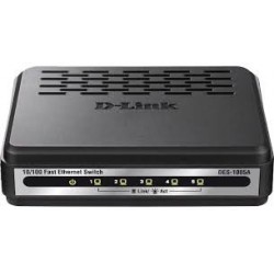 D-Link Switch 5 port 10 100 Mbps Auto sensing DES-1005A