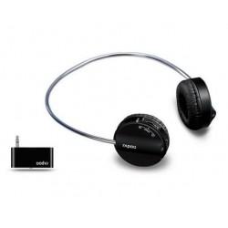 Rapoo Wireless Stereo USB Headset Black