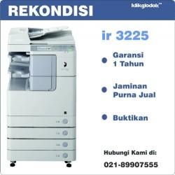 Canon ImageRUNNER iR 3225 Mesin Fotocopy Printer Laser A3 B/W [REKONDISI]