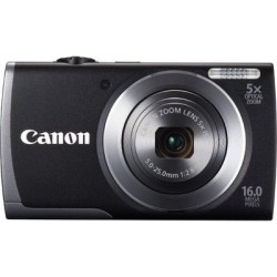 Canon POWERSHOT A3500 BLACK DIGITAL STILL CAMERA - 8156B011AA