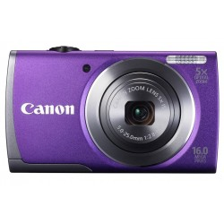 Canon POWERSHOT A3500 IS PURPLE DIGITAL STILL CAMERA - 8165B009AA