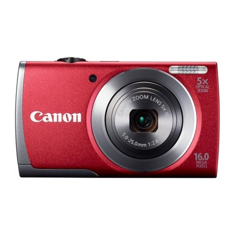Canon POWERSHOT A3500 IS RED DIGITAL STILL CAMERA - 8163B011AA