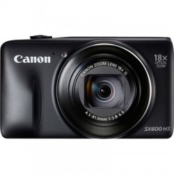 Canon POWERSHOT SX600 HS BLACK DIGITAL STILL CAMERA - 9340B011AA