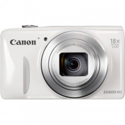 Canon POWERSHOT SX600 HS WHITE DIGITAL STILL CAMERA - 9341B011AA