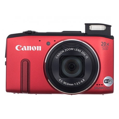 Canon POWERSHOT SX280 HS RED DIGITAL STILL CAMERA - 8225B010AA