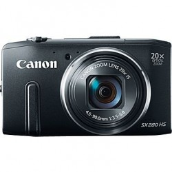 Canon POWERSHOT SX280 HS BLACK DIGITAL STILL CAMERA - 8224B012AA
