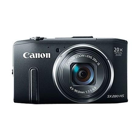 Canon POWERSHOT SX280 HS BLACK DIGITAL STILL CAMERA - 8224B012AA