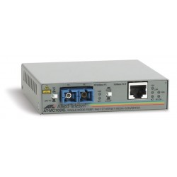 Allied Telesis Media Converter UTP To Fiber FX SC 100 Mbps Singlemode AT-MC103XL