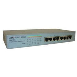 Allied Telesis Desktop Switch 8 Port 10 100 Mbps Int Power AT-FSW708