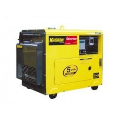Krisbow  KW2600008 [KW26-08] Diesel Generator 5kVA/5000W-1PH