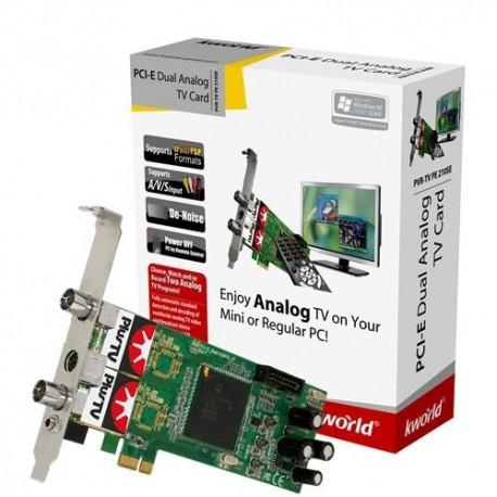 Kworld TV Tuner PCI Hybrid TV Card VS-DBVT PE210SE PCI