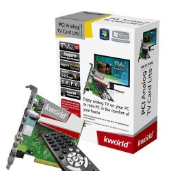Kworld TV Tuner PlusTV Analog Lite PCI PVR-TV 7134SE PCI