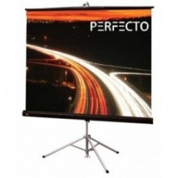 Perfecto TSPF2424 Tripod Screen 244CMx244CM 96 inchx96 inch