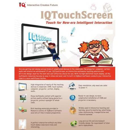 IQTouchScreen LE-M065A Interactive Creates Future